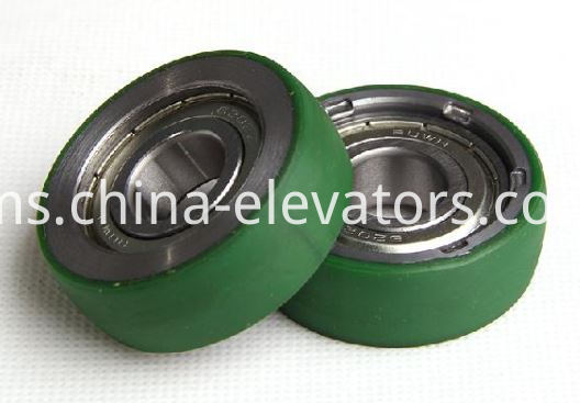 Car Door Self-closing Device Roller for Fujitec Elevators 45*15*6202