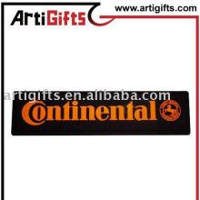 AG-P LABEL 33 étiquette en caoutchouc noir
