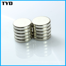 High Magnetic Performance Rare-Earth NdFeB Magnets with Disc Shape
