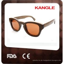 Vintage Gentleman Holz Sonnenbrille