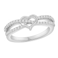 Горячие продажи 925 Серебряное кольцо Серебряное ювелирные изделия с CZ