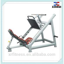 Горячая продажа Профессиональный тренажерный зал фитнес-оборудования 45 градусов жим ногами, машина (XH24)