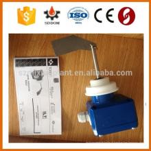 Transmissor de nível de radar de onda guiada automática com indicador de nível e saída de 4-20mA medindo o líquido e sólido feito na China