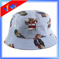 Custom Printing Logo 100% Cotton Adult Bucket Hat