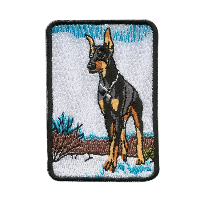 Wholesale populaires brodés animaux Patches