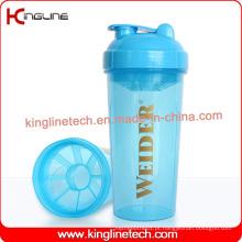 Garrafa De Abastecimento De Proteína De Plástico com filtro (KL-7033) de 700ml