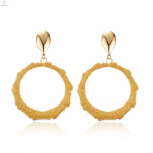 Wholesale Funky Casual Wear Gold Plated Earrings For Girls