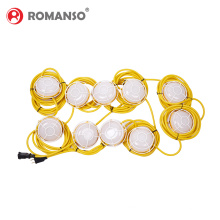 Competitive Price String Lights Outdoor Ip65 Waterproof String of Lights Custom Industrial Construction 10m String Lights
