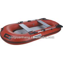 Barco bote de borracha inflável