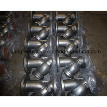 Stainless Steel Y-Strainer 300lb with Flange End