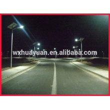 Solar led light post