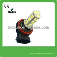 H8 18 SMD 5050 12V auto lampes led