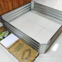 Galvanized plate Raised Vegetable / garden grow bed / planter box