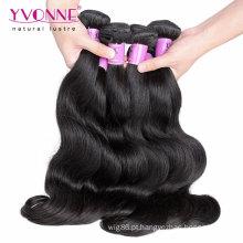 Trama malaia do cabelo do Virgin quente da onda do corpo das vendas