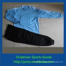 Maillot de football pas cher de qualité supérieure, uniforme de gardien de but de l'équipe de football de style de mode