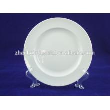 white color porcelain large plates hotel and & restaurant supplier