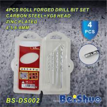 Hot Sale 4PCS Roll Forged Drill Bit Set