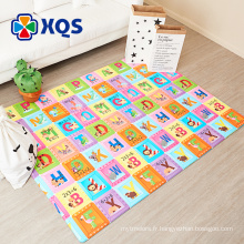 2015 vente chaude jouets bébé rampant tapis de sol tapis jouets bébé gros tapis d'activité pour bébé