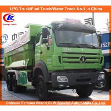 Beiben 6X4 340HP 15cbm-20cbm Front Tipping Tipper Truck Dump Truck