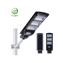 LED solar light with plastic cover