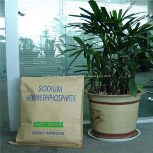 Ingredientes alimentares SHMP de hexametafosfato de sódio aditivo de alimento
