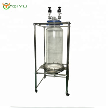150L low price lab glass reactor Vacuum Filter system made in China with PTFE