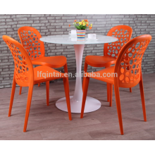dining chairs plastic round back hollow dining chairs outdoors