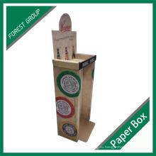 Пользовательские печатные пива pdq встречная Коробка дисплея картона оптом