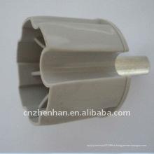 60 мм металлический ролик концевой заглушки тент компонентная втулка держателя роликовой опоры пластиковая концевая заглушка для маркизы, занавесок аксессуаров