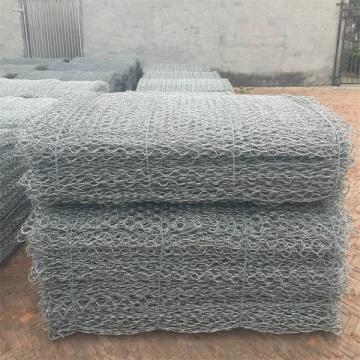 galvanized wire mesh gabion boxes stone cage