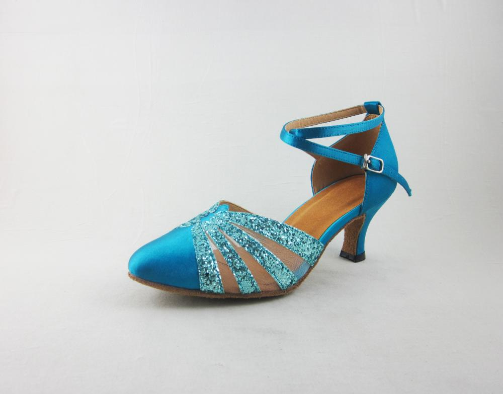 Blue Dancing Shoes