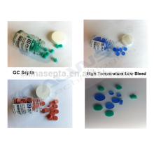 100pcs / pk, Silicone à haute température GC Septa