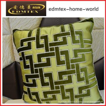 Embroidery Decorative Cushion Fashion Velvet Oreiller (EDM0322)