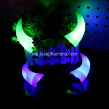 Promosi Plastik Glowing Twill Horns Horns