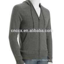 15STC6805 kangaroo pocket cashmere hoodie men