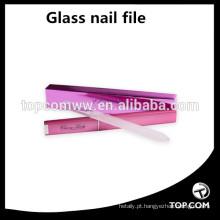 Venda Por Atacado Lixa de unhas de vidro - lixa de unhas de cristal com o caso - Manicure lixa de unhas