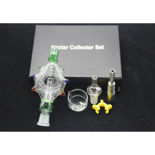 Meilleure vente de bon collecteur de nectar Bonne fonction pour fumer le tuyau d'eau en verre