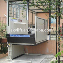 Electric hydraulic wheelchair hitch lift for disabled people