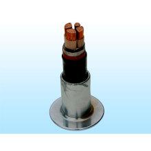 Cable de transmisión de energía con aislamiento de PVC