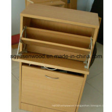 Modern Economical Panel Shoes Cabinet / Metal Shoe Rack Designs