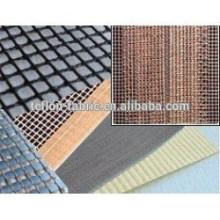 Tecido de Kevlar Revestido PTFE Anti Estático cor preta