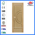 JHK-014 Natual Ash HDF Wood Door Skin Design