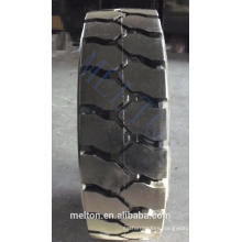 CHINA TIRE FACTORY 250-15 300-15 good resilient 3ply rubber forklift solid tire TR