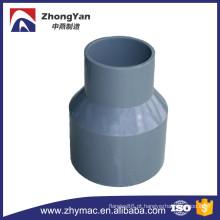 tipos de plástico PVC tubulação encaixes redutor concêntrico