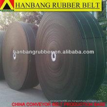 Transportador de tejido sólido del PVC correa de 1800 X300m/rodillo para industria minera