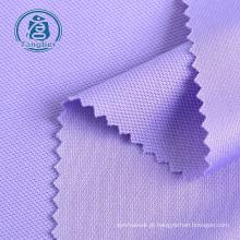 Roupa esportiva, tecido de malha 100% poliéster piquê