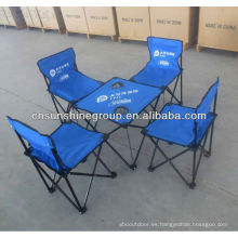 Al aire libre plegable silla y mesa de camping