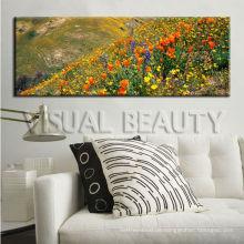 Natürliche Landschafts-Blumen-Malerei-Segeltuch für Hauptdekor