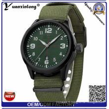 Yxl-861 2016 Marque De Luxe Militaire Montre Hommes Quartz Analogique Horloge En Cuir Toile Bracelet Horloge Homme Sport Montres Armée Relogios Masculino