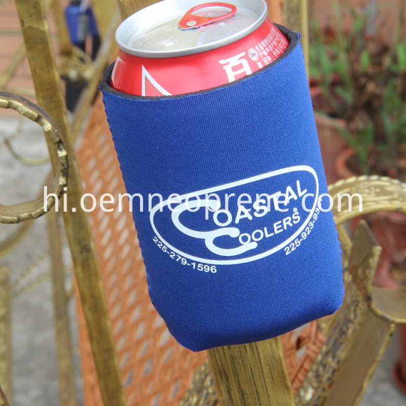 Magnetic can coolers
